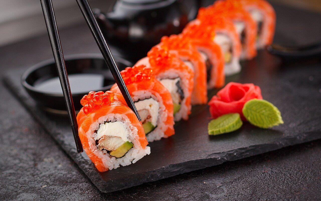Jak jeść sushi