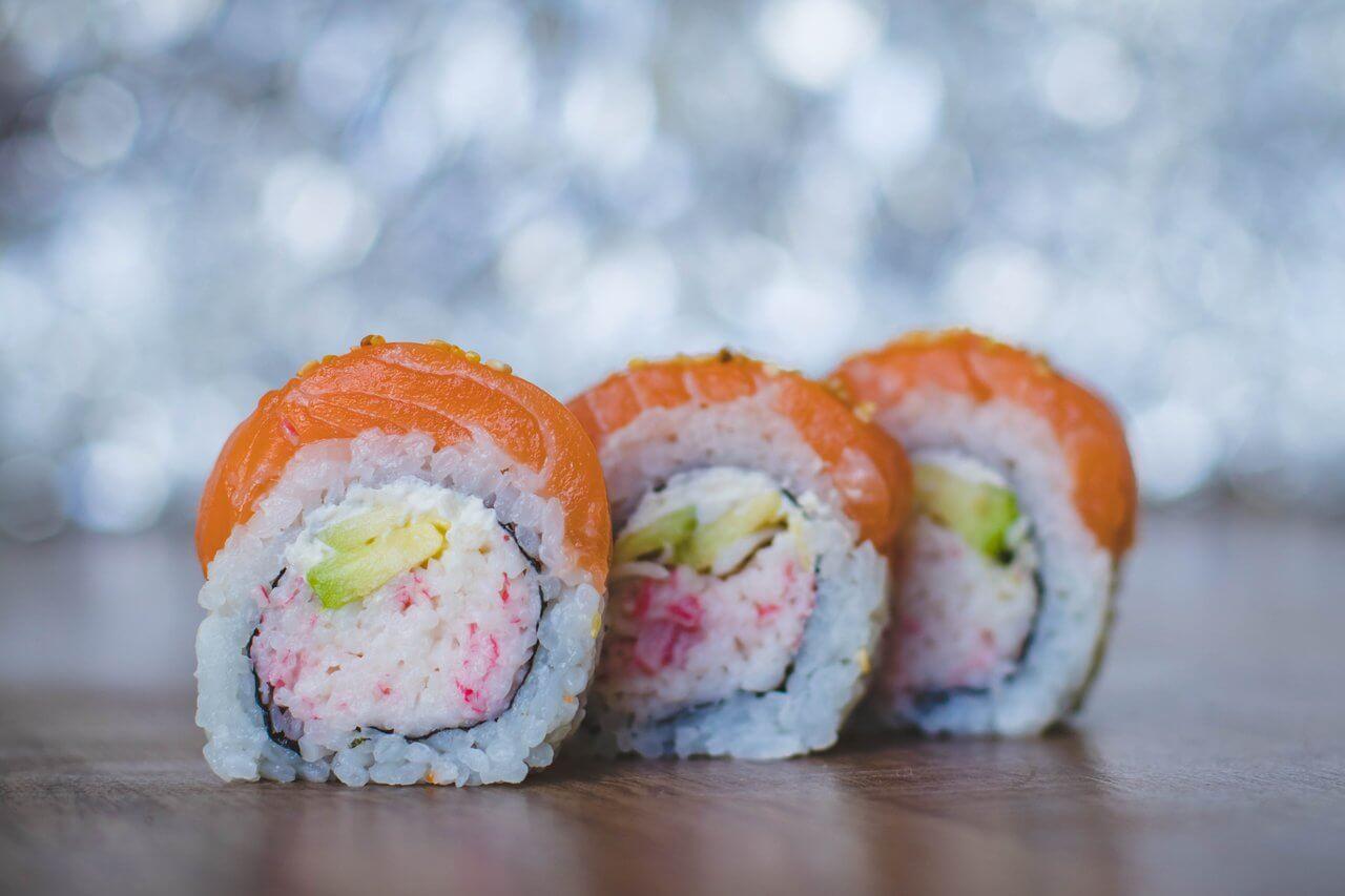 Ebi-obi sushi