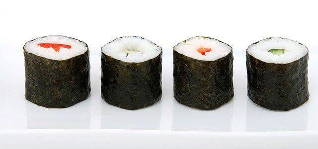 Hosomaki (z tuńczykiem na ostro)