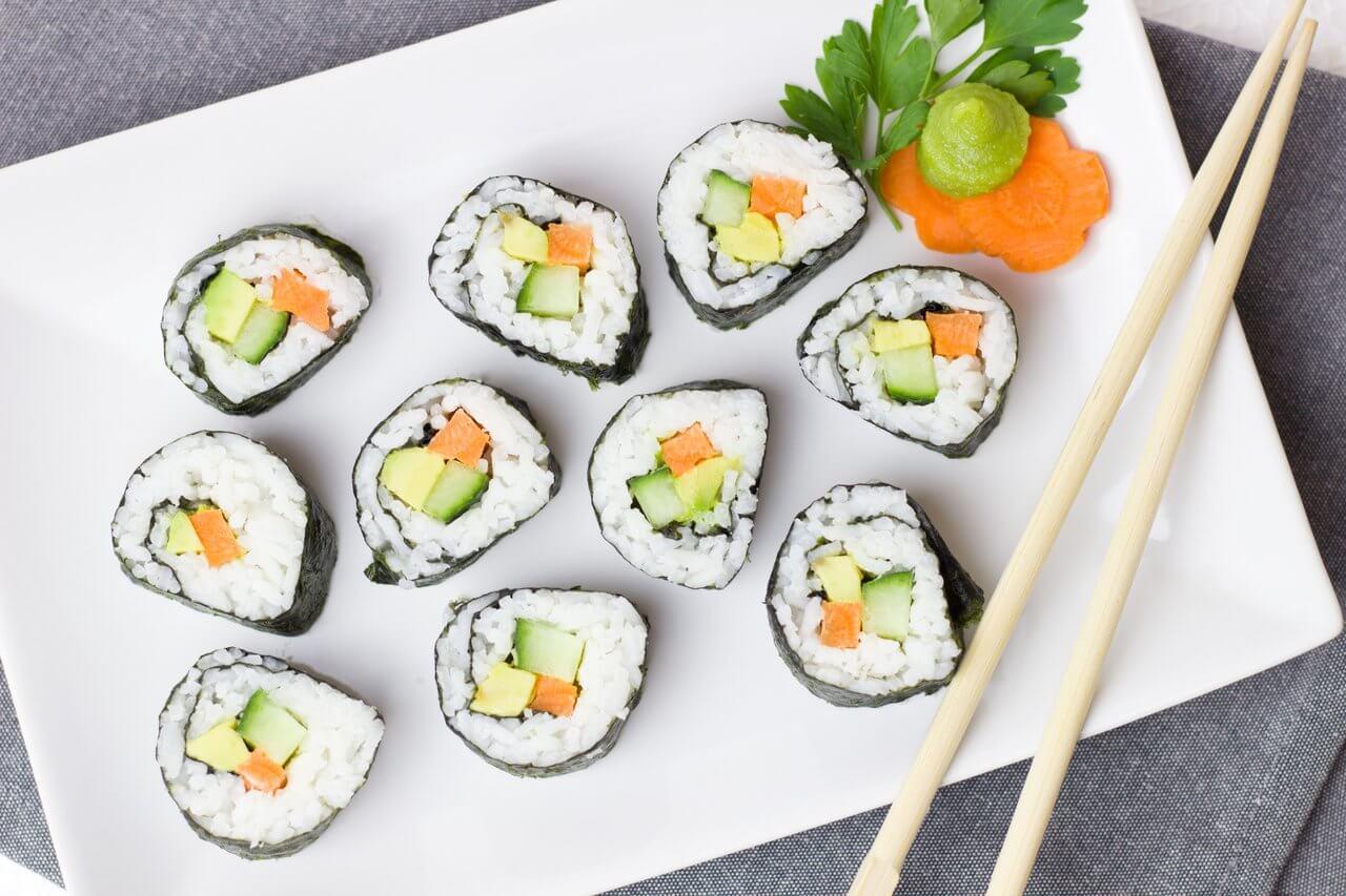 Kappa maki sushi