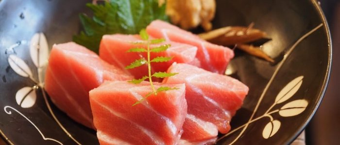 Sashimi z polędwicy