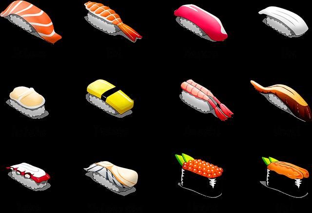 Słownik sushi