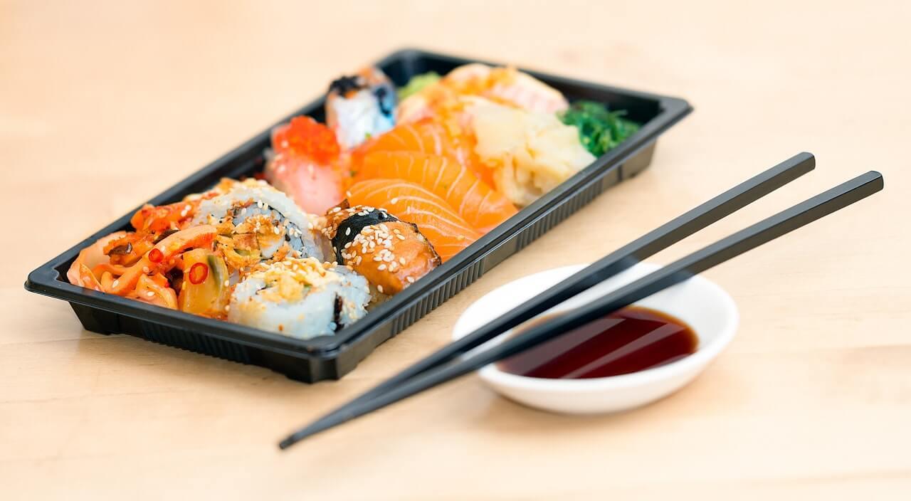 Sushi fast-food
